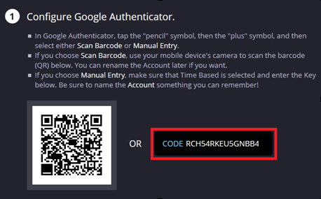 Two-Step Verification (OTP Authentication): Removal – Blade