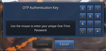 Two-Step Verification (OTP Authentication): Setting Up – Blade